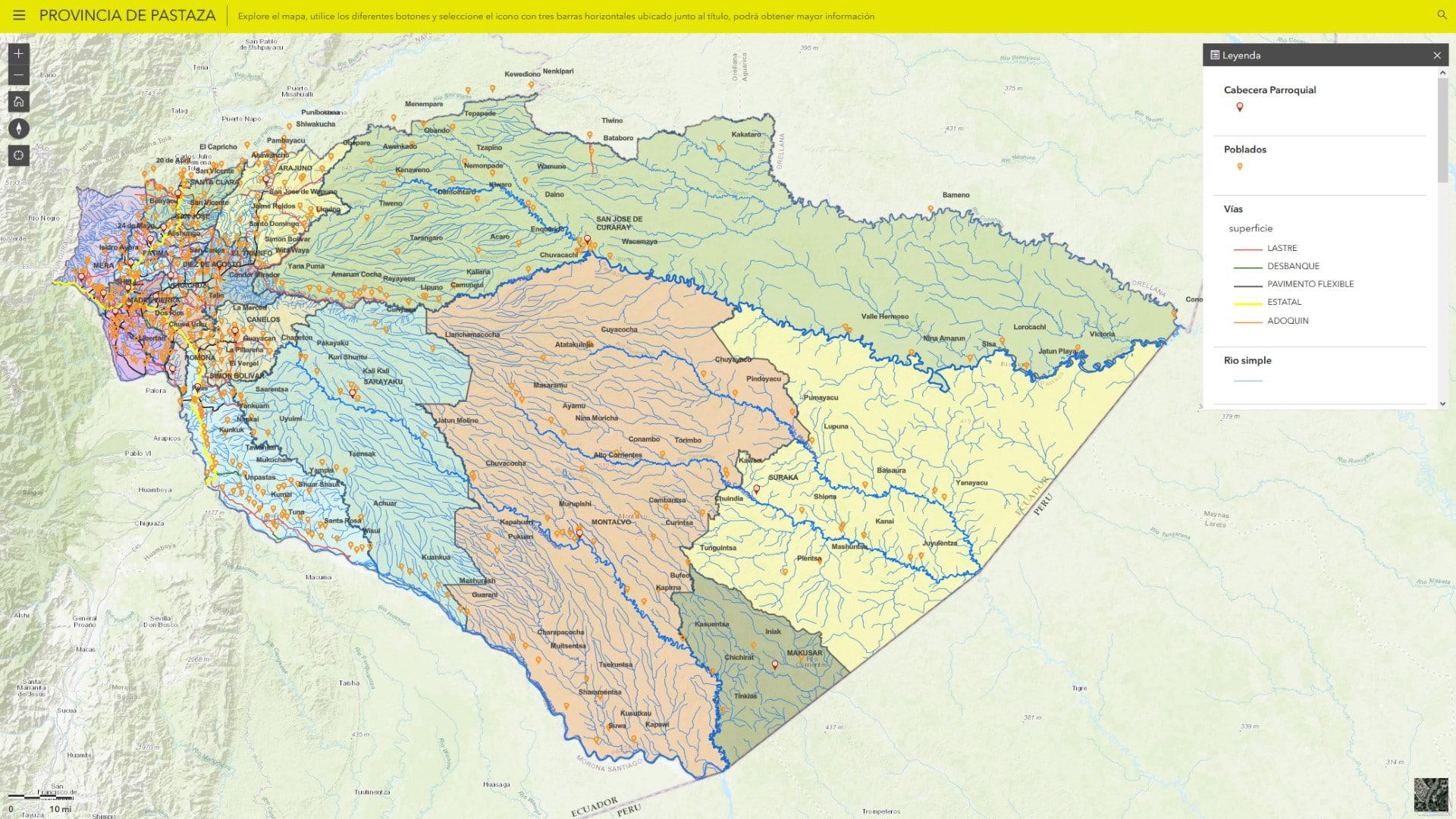 Nodo de Información Geográfica
