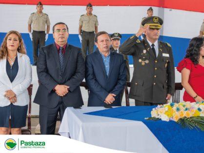 Comando de Policía Pastaza desarrolló acto castrense de ascenso de los señores oficiales y clases de esa noble institución