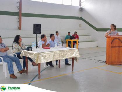Reunión convocada por el GAD Parroquial de Madre Tierra trató el tema de afectaciones causadas por el río Pastaza en época invernal