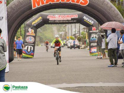 """Con éxito se desarrolló la competencia de cross country maratón """"La Ruta del Guerrero"""" organizada por Pastaza Team con el apoyo del GAD Provincial de Pastaza"""
