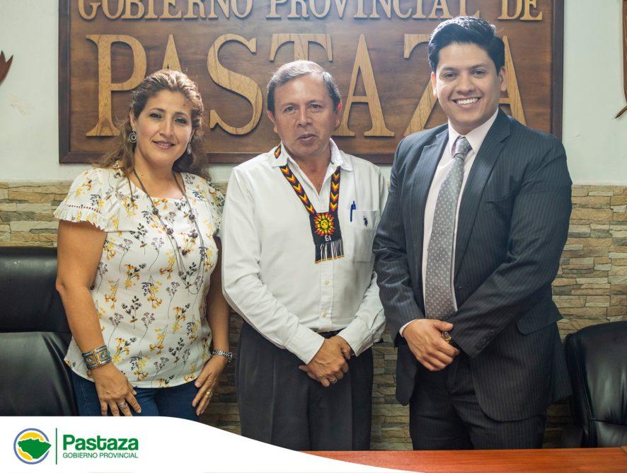 Prefecto Provincial mantuvo reunión protocolar con Gerente BEDE