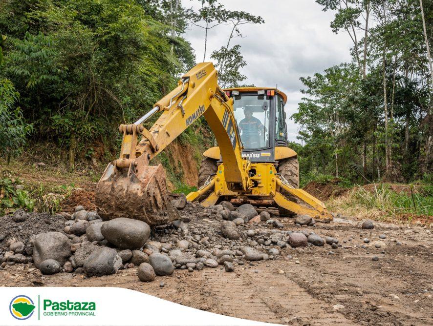 Atención de emergencia en el tramo vial Cajabamba