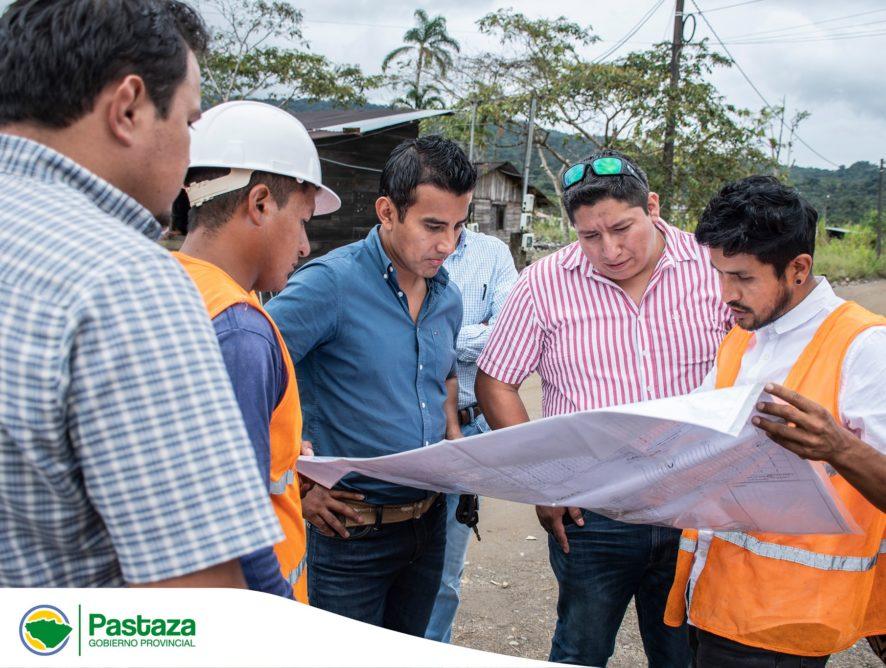Inspección técnica a la Construcción del Asfaltado de la Calle San José, parroquia Shell