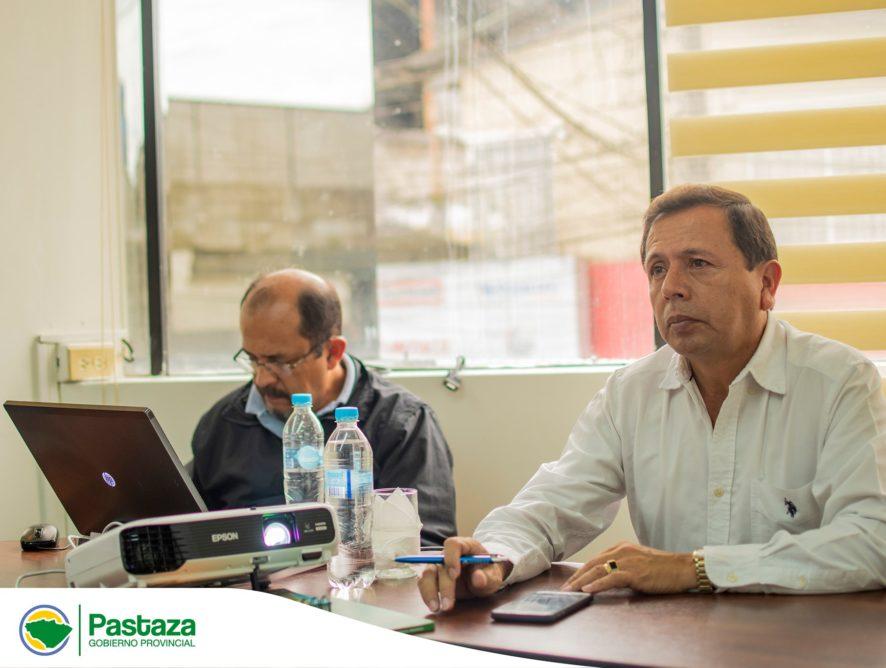 Reunión del Prefecto Provincial con representantes de transporte ínter e intraprovincial de Pastaza