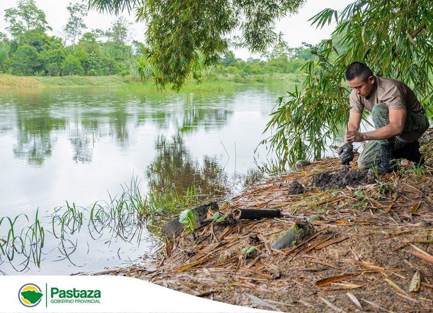Capacitación en temas ambientales a Aspirantes a soldados de la Escuela de Iwias