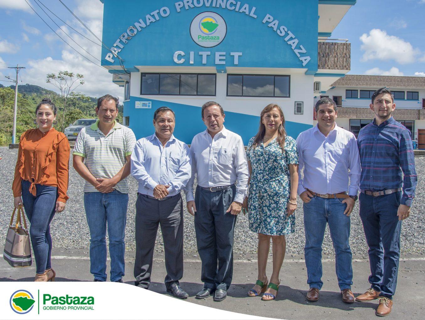 """Visita del Prefecto de Morona Santiago al Proyecto """"Centro Integral Terapéutico de Equinoterapia y Turismo"""" CITET"""