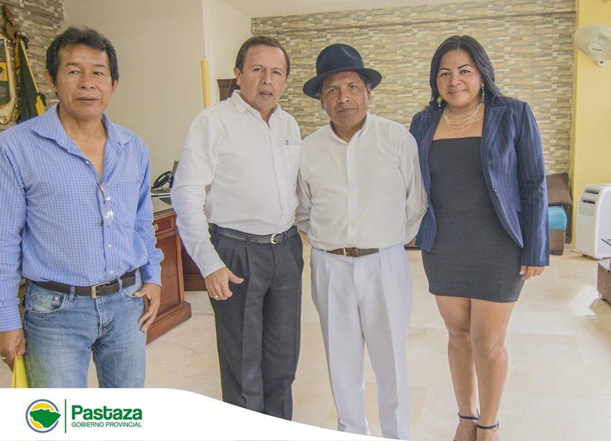 Reunión con el Presidente del Comité Organizador de los V Juegos Nacionales Ancestrales y Autóctonos de los Pueblos y Nacionalidades del Ecuador