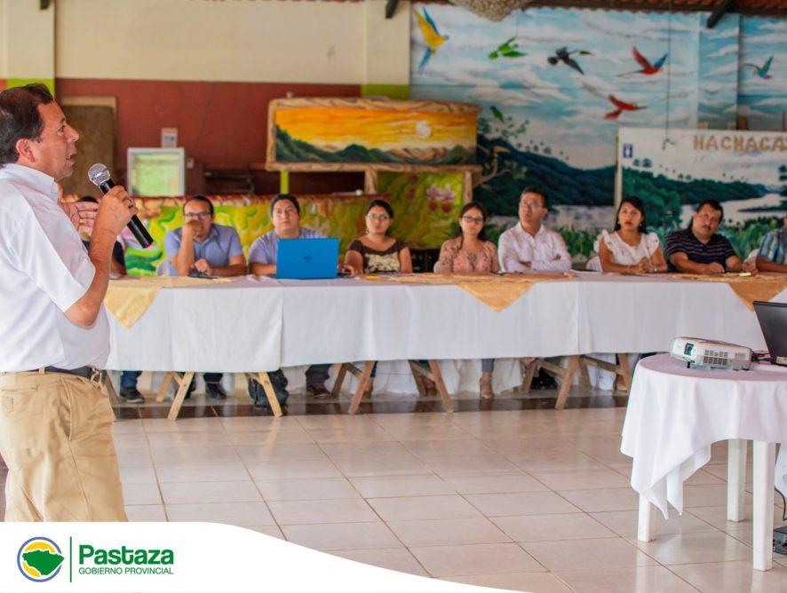 Reunión del Sistema de Participación Ciudadana y Control Social