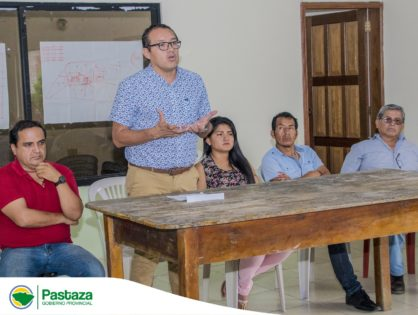 Reunión de trabajo con el Presidente y Vocales del GADPR de Fátima