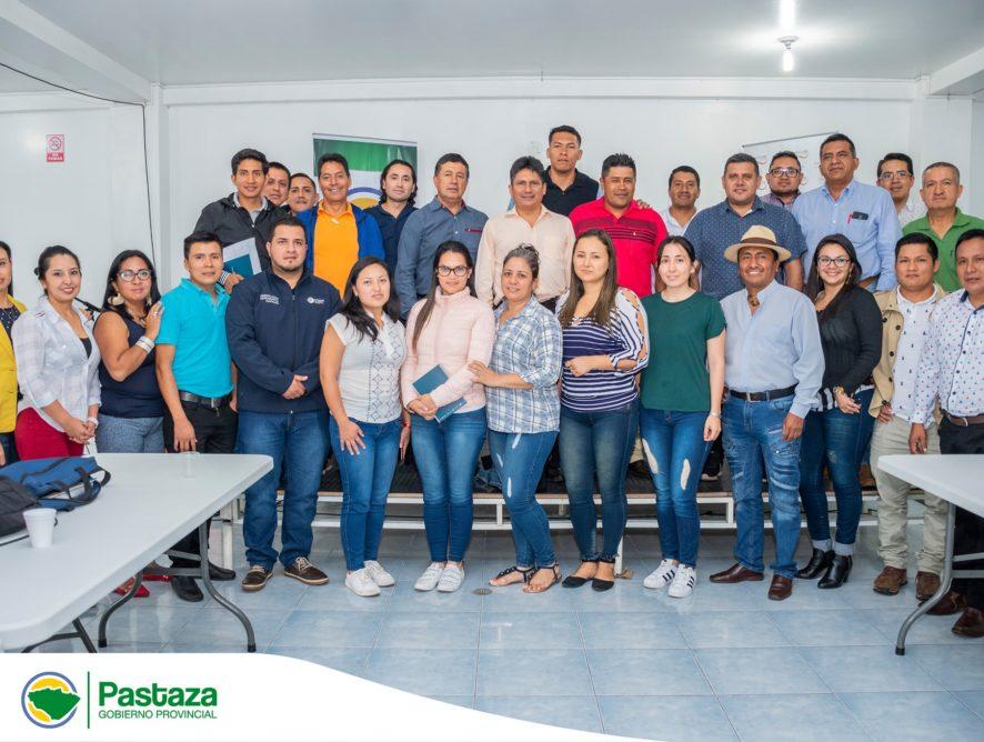 Taller de Capacitación y Fortalecimiento de los Equipos Técnicos de los Gobiernos Autónomos Descentralizados Provinciales de la Amazonía.