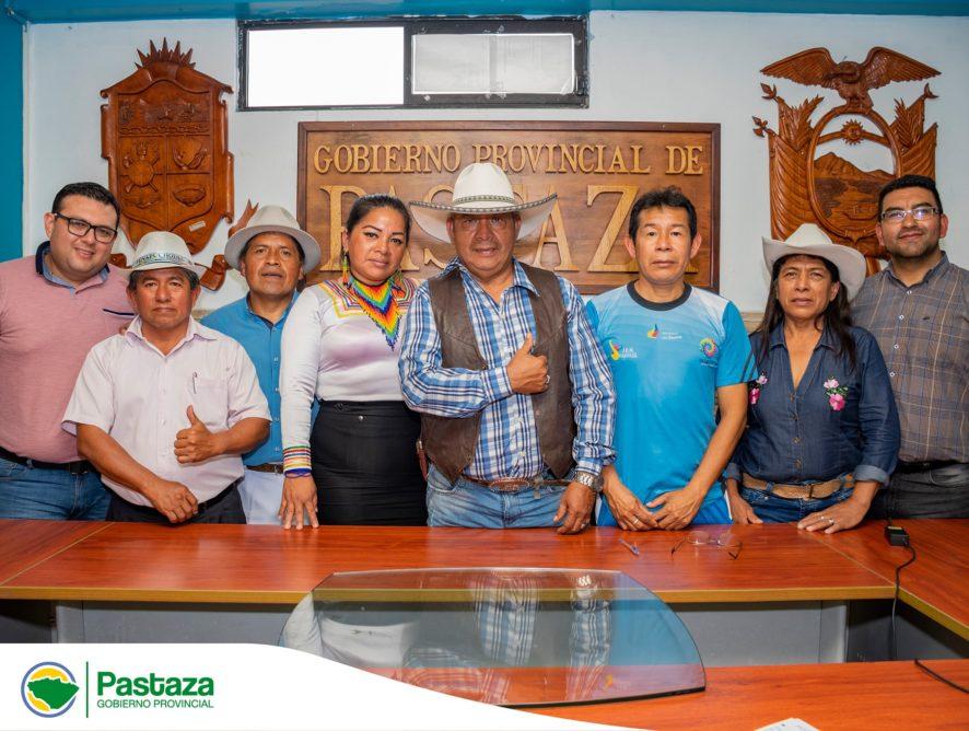 Reunión para la coordinación de la Tercera Edición del Festival Nacional de Juegos Ancestrales y Autóctonos de los Pueblos y Nacionalidades del Ecuador