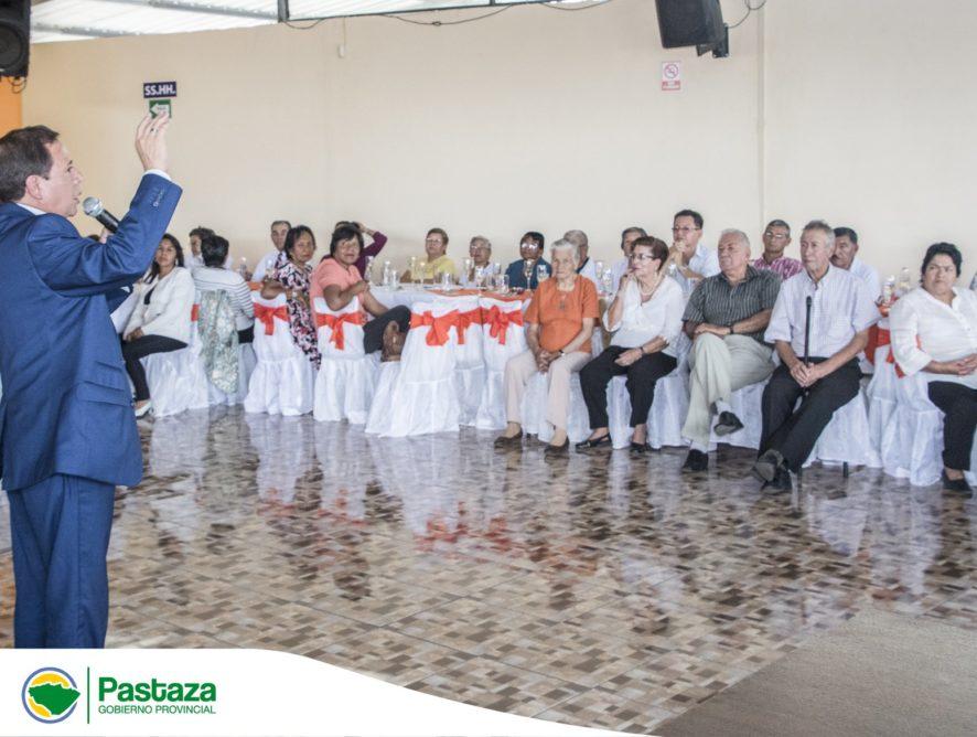 Jaime Guevara Prefecto Provincial fue parte de la celebración del Día del Jubilado