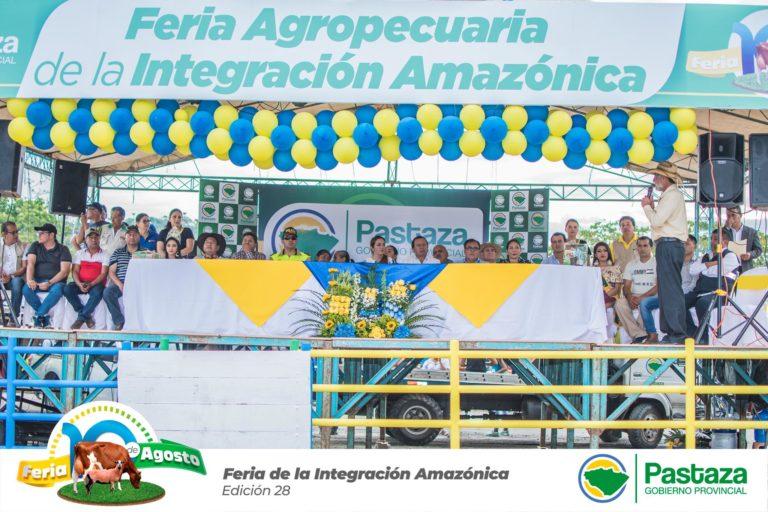 Feria Agropecuaria de la Integración Amazónica 10 Agosto