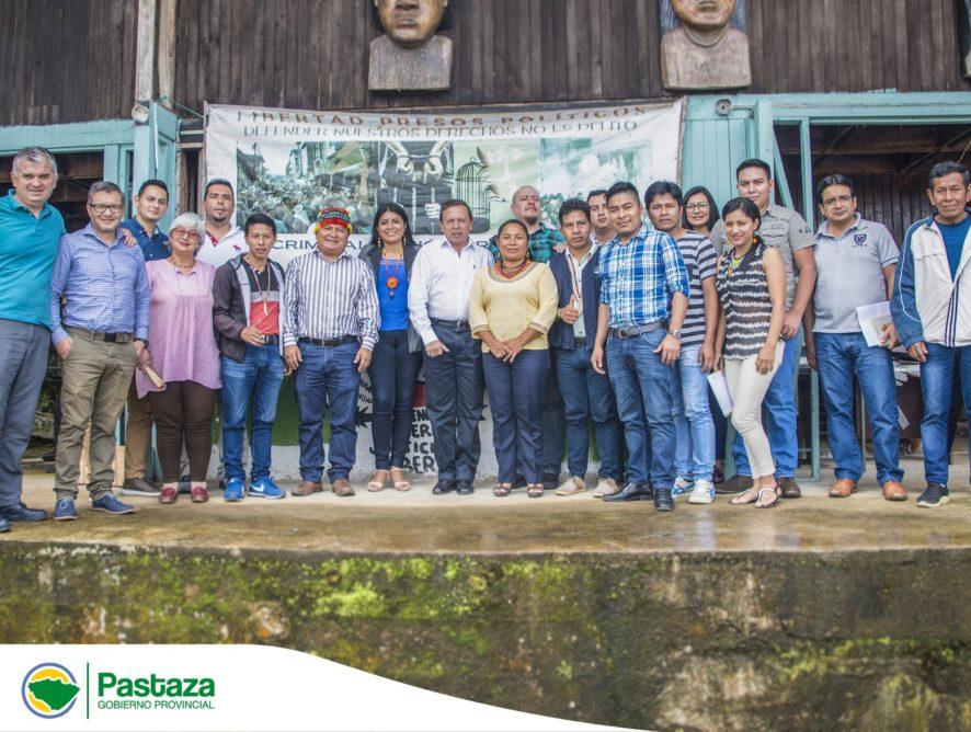 GADPPz articula el proceso en territorio junto a la ONG Naturaleza y Cultura Internacional NCI y Confeniae.