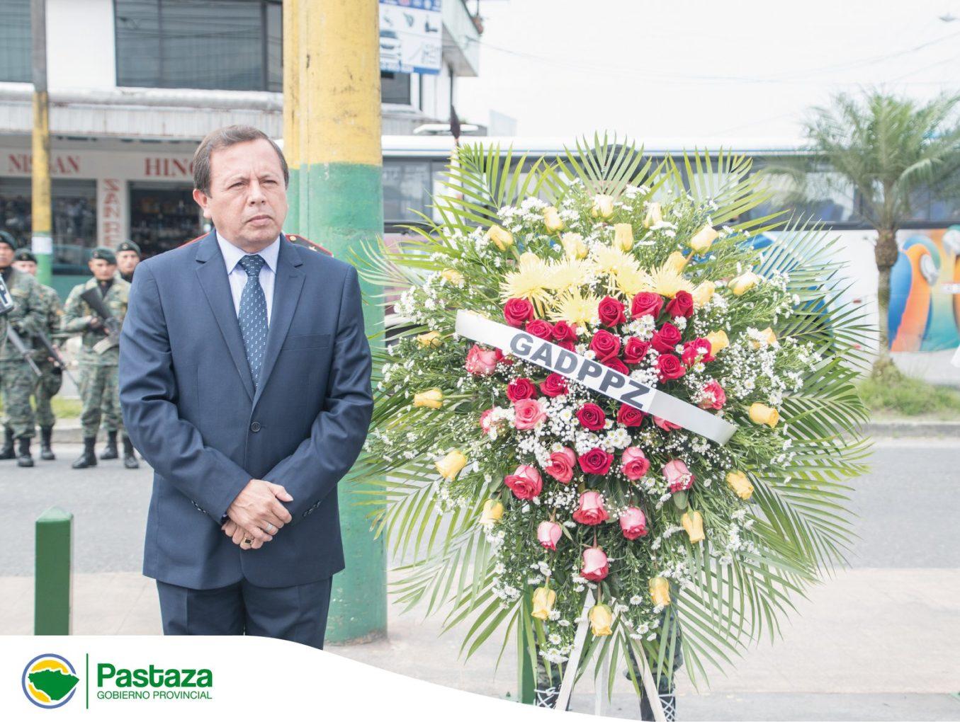 Prefecto Provincial participó en la ceremonia cívico militar conmemorativa por los 210 años del Primer Grito de Independencia