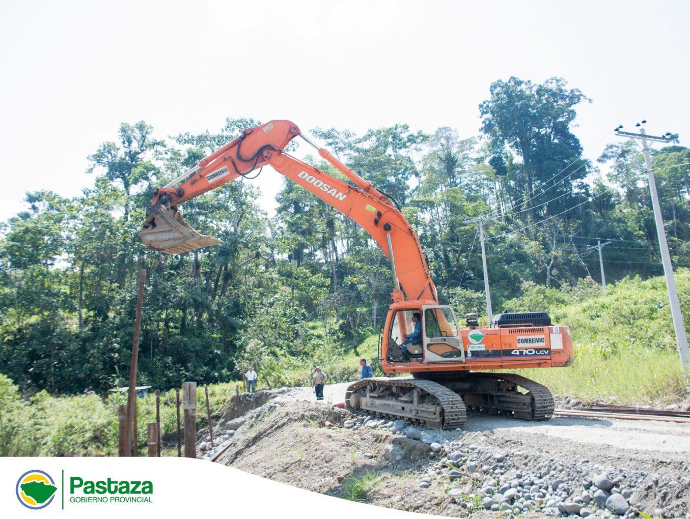 Seguimos trabajando en la vía El Triunfo-Villano-Paparawa
