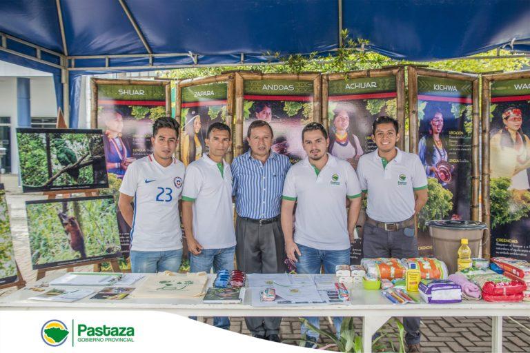 Prefecto Provincial de Pastaza participó de la feria ciudadana en conmemoración del Día Mundial de la Asistencia Humanitaria