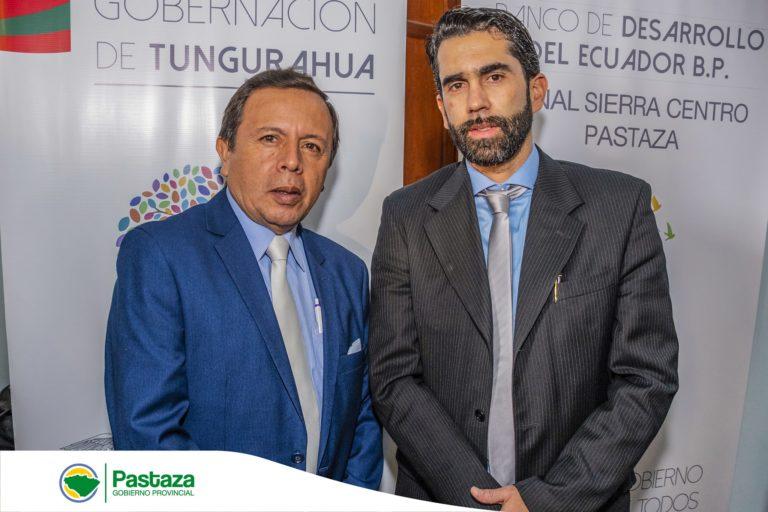 """Prefecto de Pastaza participará del evento """"Vivir en Prosperidad"""""""