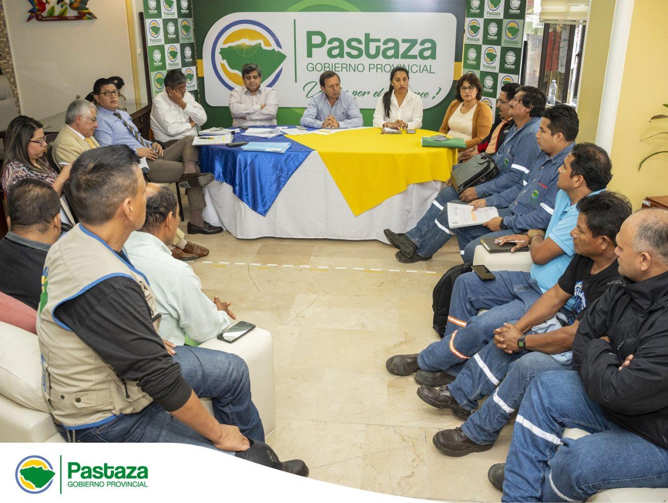 Reunión de trabajo con el Sindicato de Trabajadores