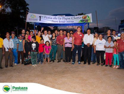 Jaime Guevara, Prefecto Provincial participó de la Primera Edición de la Feria de la Papachina, San José 2019.