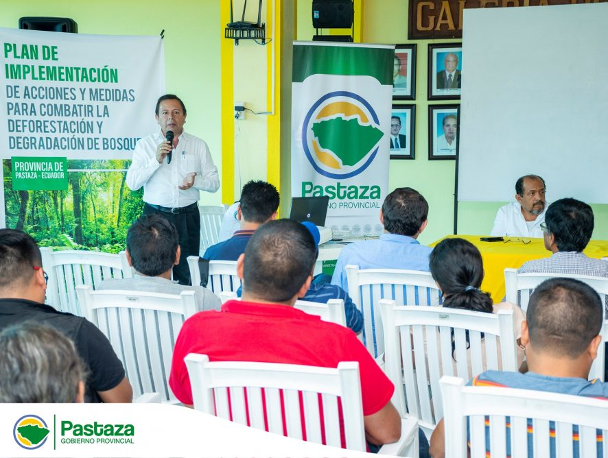 Jaime Guevara, Prefecto Provincial, presidió la primera reunión para la conformación de la Mesa Técnica de Planificación Provincial de la provincia de Pastaza.