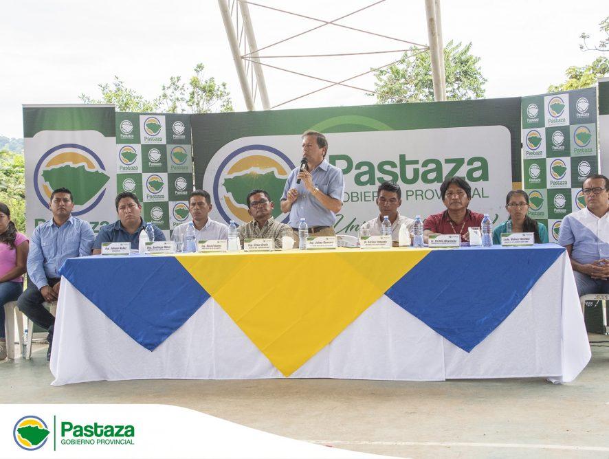 Prefecto socializa el proyecto de Estudio a Nivel de Asfalto de la vía Paparawa-Kallana.