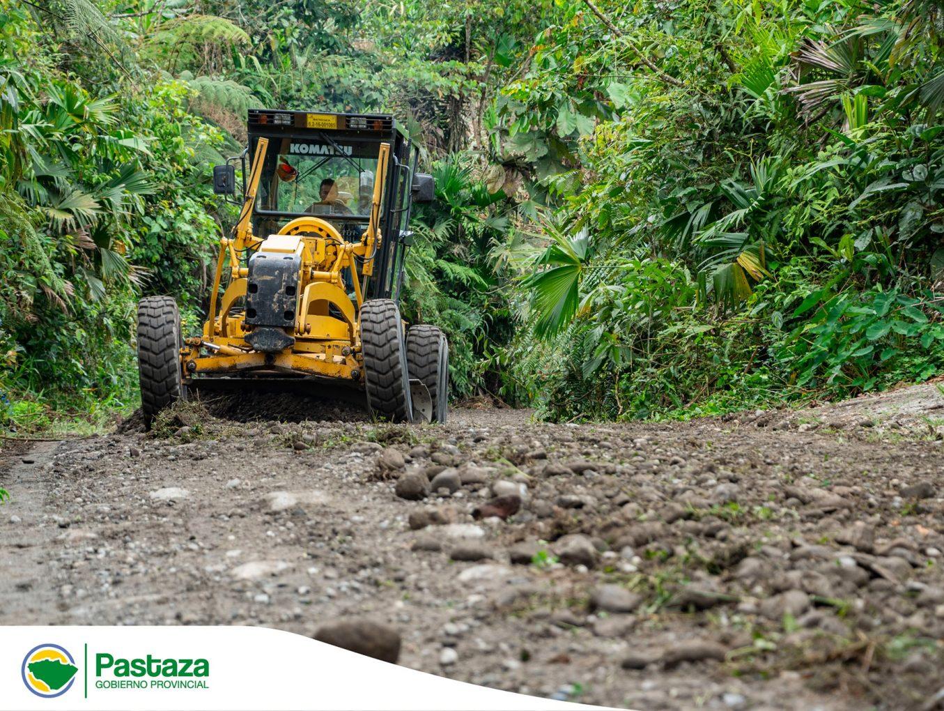 Nuestro personal y maquinaria trabajan en el mantenimiento integral de los 7 kilómetros.