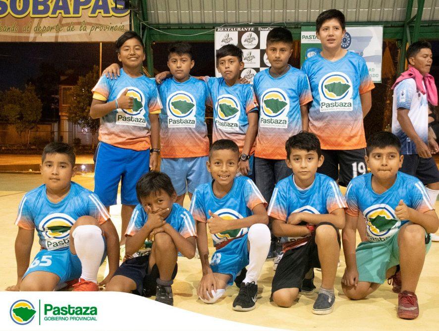 Inauguración del Campeonato de Integración de Padres de Familia de las Escuelas de Fútbol del GADPPz.