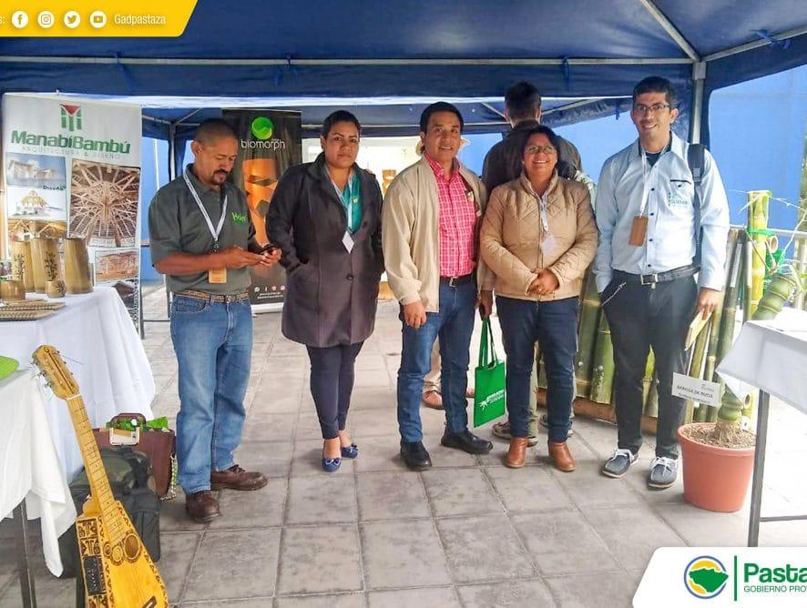 La Prefectura de Pastaza participan en el VI Simposio Internacional de Bambú y Guadúa.