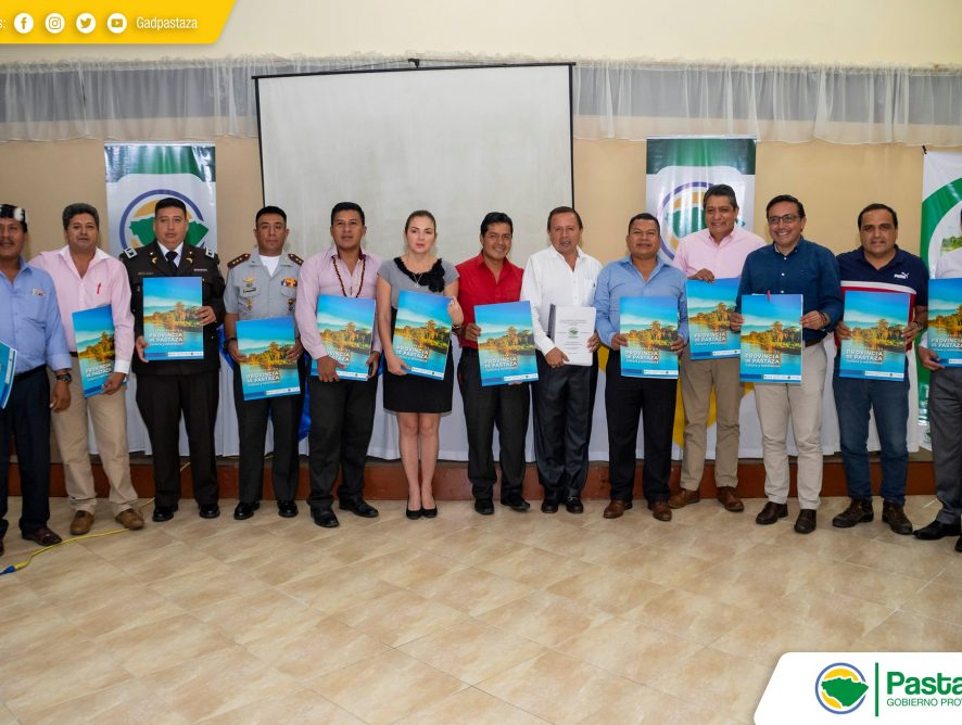 Presentación del Borrador de la actualización del Plan de Desarrollo y OrdenamientoTerritorial de la Provincia de Pastaza proyectado hasta el año 2025.
