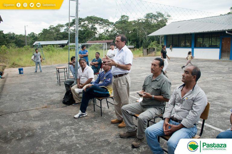Jaime Guevara, Prefecto de Pastaza recorrió la vía Bolivarense - Renacer Amazónico.