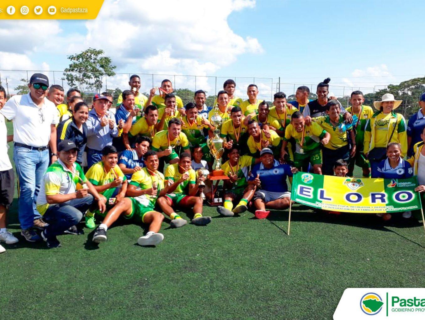 Se realizó la premiación a los equipos participantes del Campeonato Nacional de Fútbol Barrial organizado por la FEDENALIGAS.