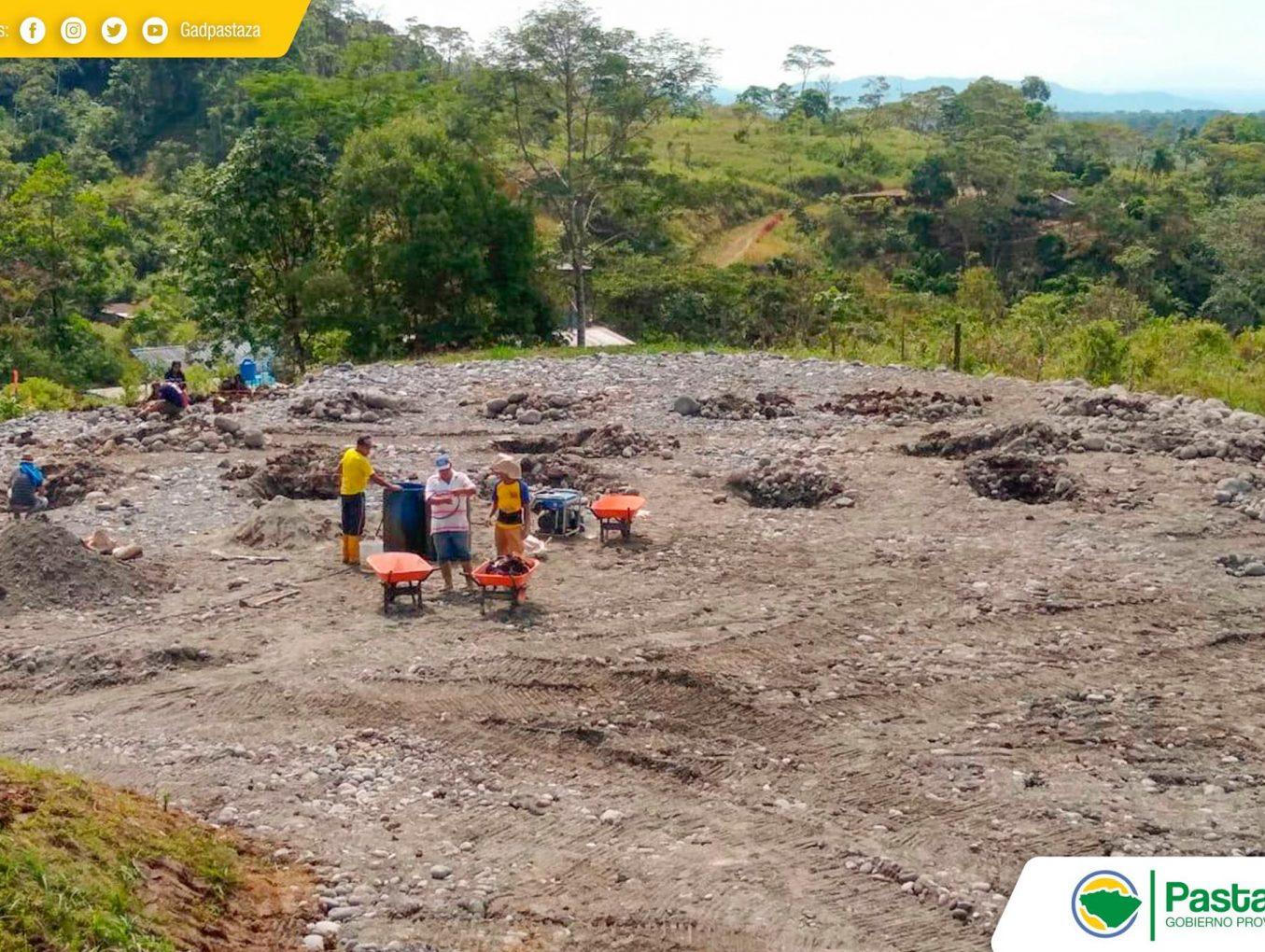 Construcción del Bambusario en el Centro de Investigación Ambiental Pindo Mirador.