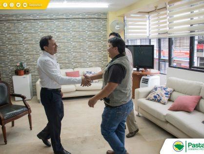 Visita del Presidente del GAD Parroquial de Shell.