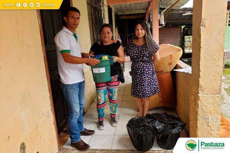 Asistencia humanitaria en la parroquia Simón Bolívar.