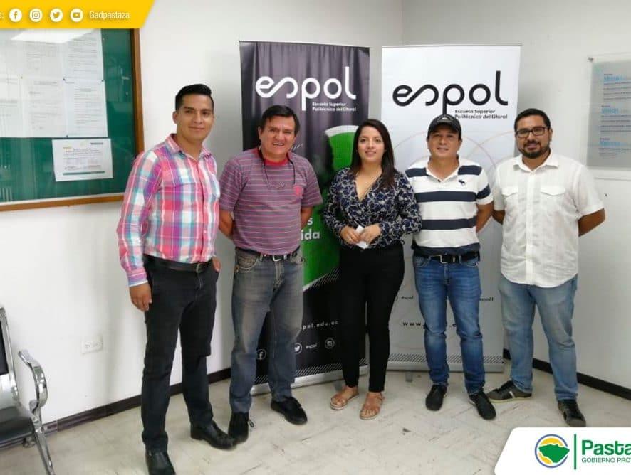 Visita técnica a la Escuela Politécnica del Litoral de la provincia del Guayas.