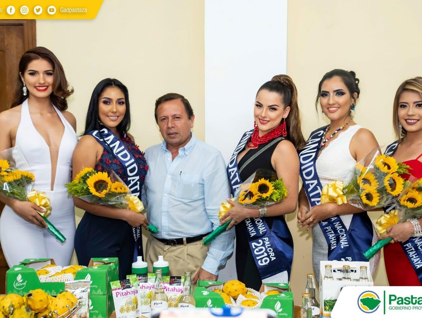 Rueda de Prensa con motivo de la realización de la Primera Feria Nacional de la Pitahaya, Palora 2019.