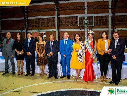 Prefecto Provincial Pastaza, Ing. Jaime Guevara, junto a su esposa, Prof. Narcisa Arboleda, participaron como invitados de honor en la Elección y Coronación de la Reina Nacional de la Pitahaya.