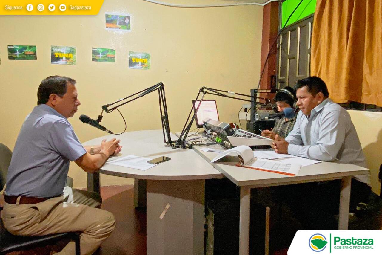 Diálogo abierto en Radio Tuna 94.7 FM.
