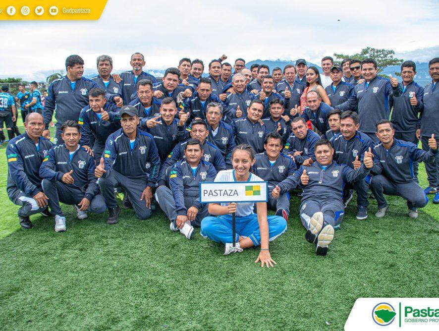Jaime Guevara, Prefecto Provincial participó del acto inaugural de la Vigésima Séptima Jornada Deportiva de la Federación Nacional de Obreros.