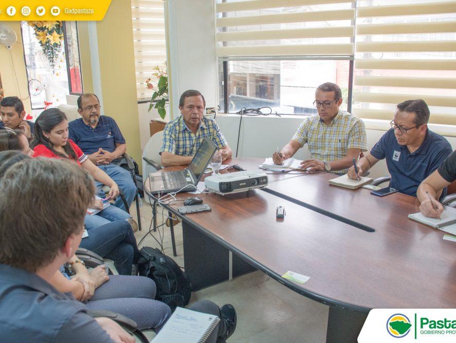 Reunión de trabajo con los representantes de la ONG WWF.