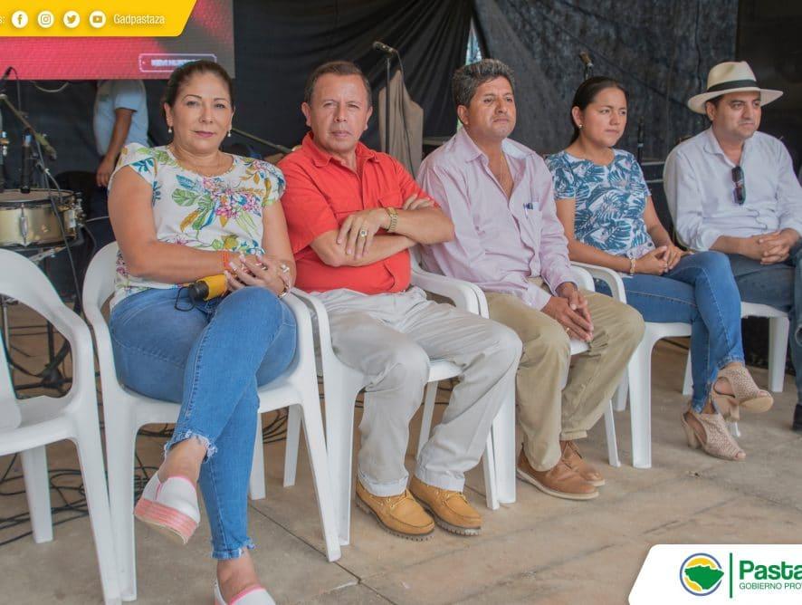 Jaime Guevara, Prefecto de Pastaza participó Feria de Bioemprendimientos y Turística Santa Clara 2020.