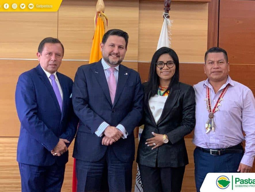 Prefecto Jaime Guevara cumplió agenda en Quito.