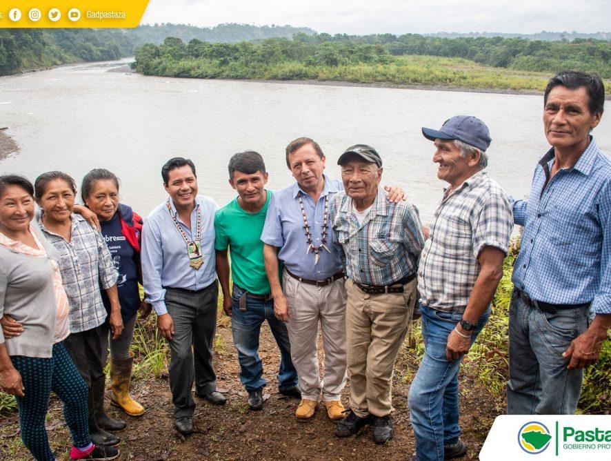 Jaime Guevara mantuvo una reunión con el presidente del GAD Madre Tierra conjuntamente con los moradores de la comunidad Puyupungo.