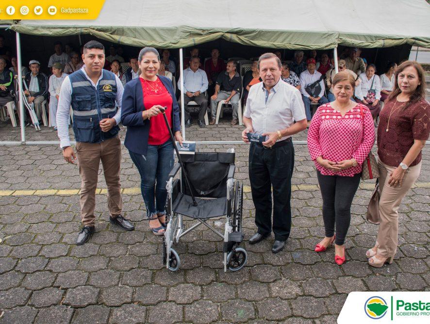 Inauguración de las brigadas oftalmológicas y cardiológicas del grupo Emanuel.