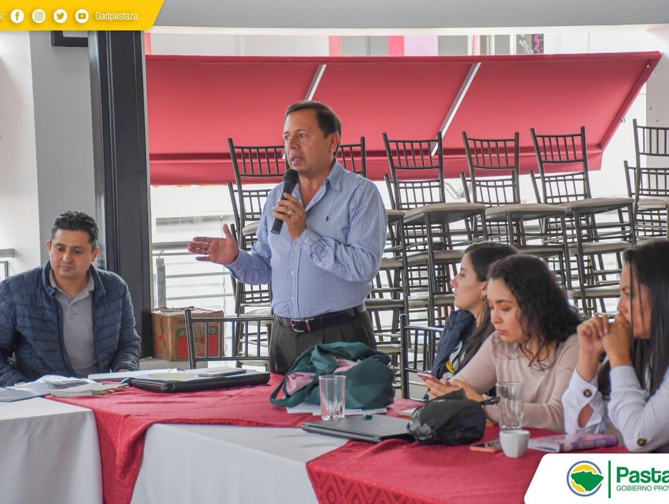 Reunión para la articulación del uso y gestión de suelo.