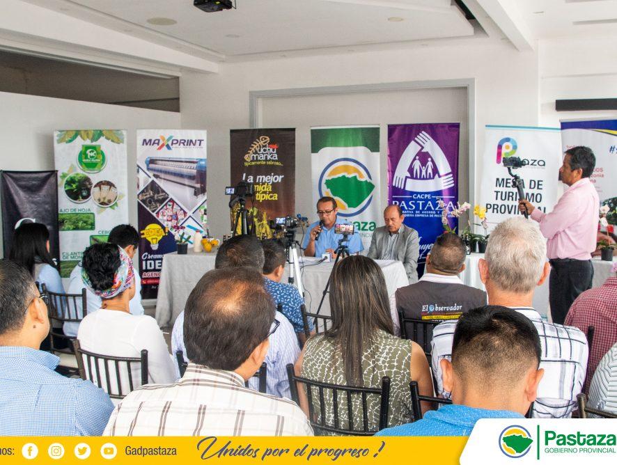 """El GADPPz, realizó lanzamiento de la feria """"Pastaza, Capital Mundial de la Orquídea""""."""