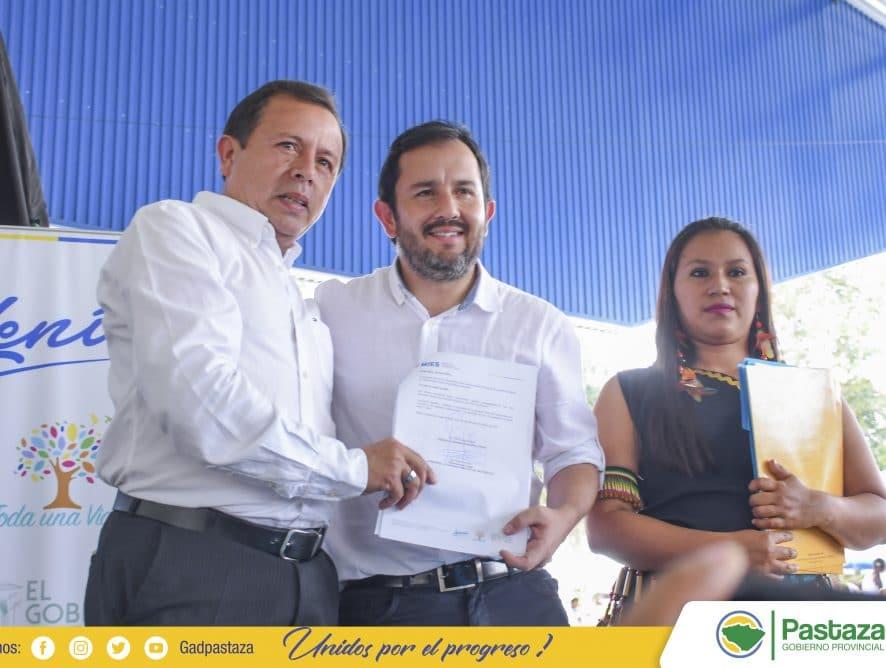 Los sectores vulnerables son una prioridad para la administración del Prefecto Jaime Guevara.