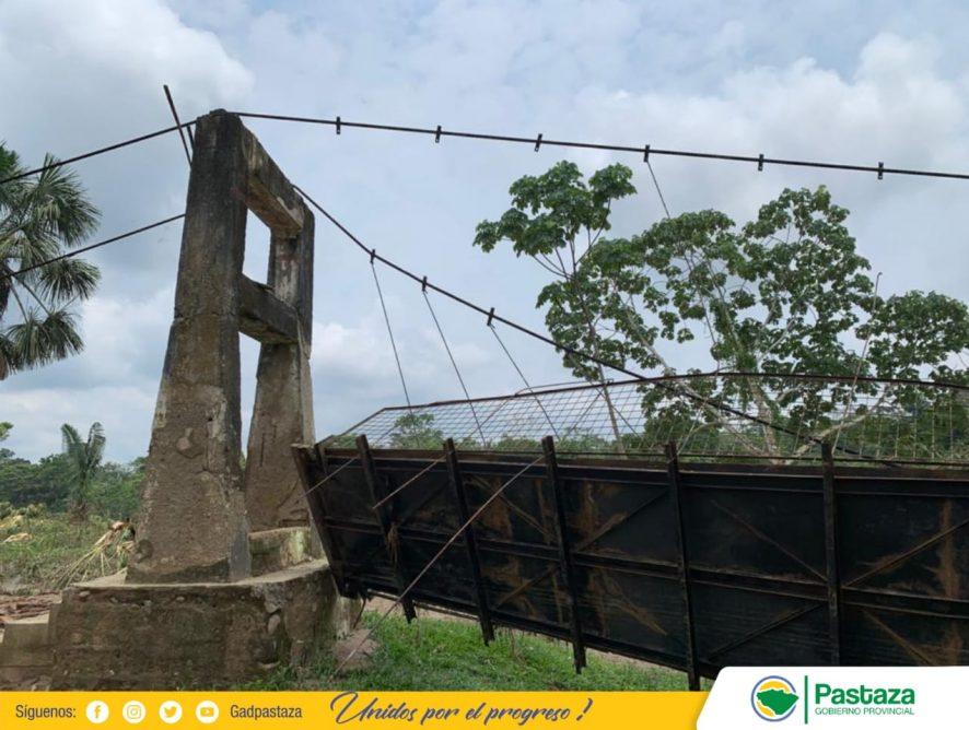 Revisión técnica de los puentes de Pakayaku y Wituk Yaku.