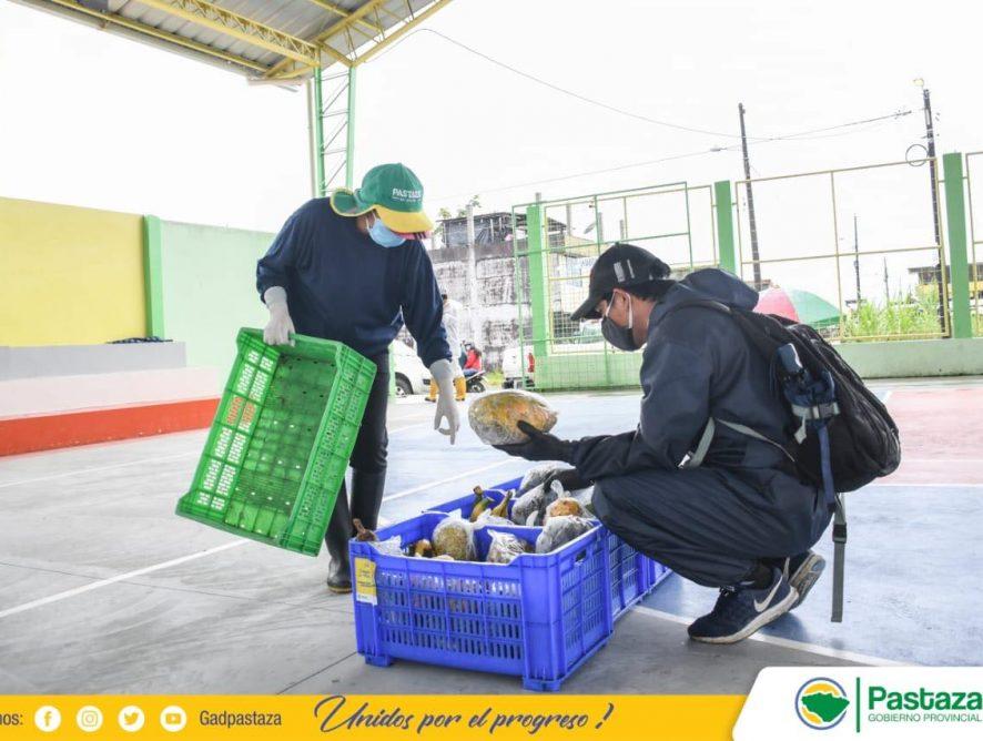 Ferias ambulantes con productos de la zona.